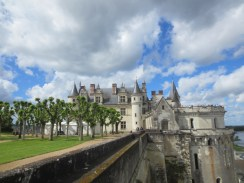 Chateau d'Amboise is impressive
