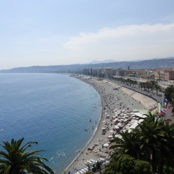 Baie des Anges from Hotel Suisse