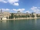 The Seine looked inviting in the warm sun