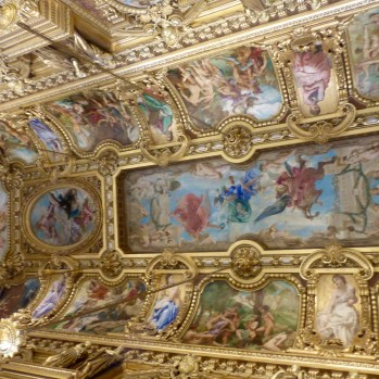 Ceiling in the Grand Foyer