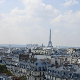 Rooftops and the Eiffel Tower