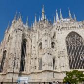 Side facade of the Duomo