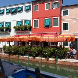 The Ristorante we dined at in Burano