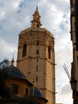 The gothic Micalet Tower