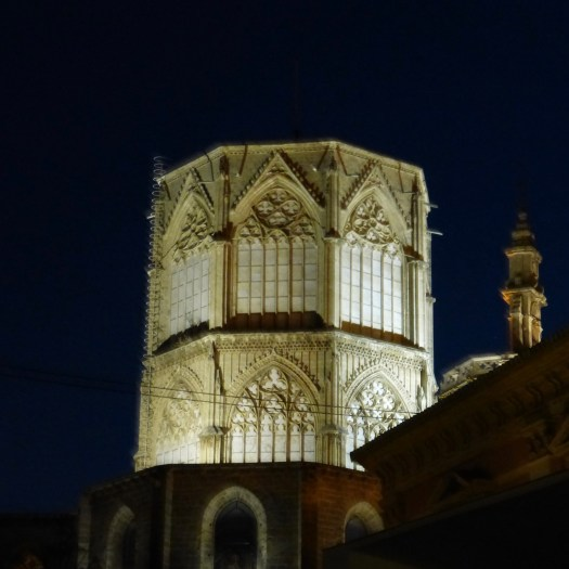 Light on the cupola of the Cathedral
