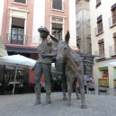 Water carrier and his handler
