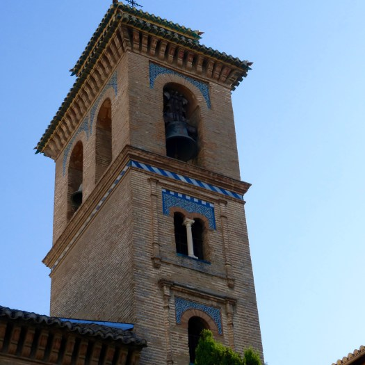 Form minaret to bell tower