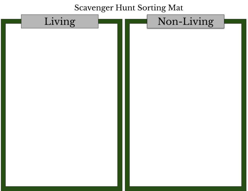 medium resolution of Sheriff's Meadow Scavenger Hunt Worksheet #1 – Sheriff's Meadow Foundation