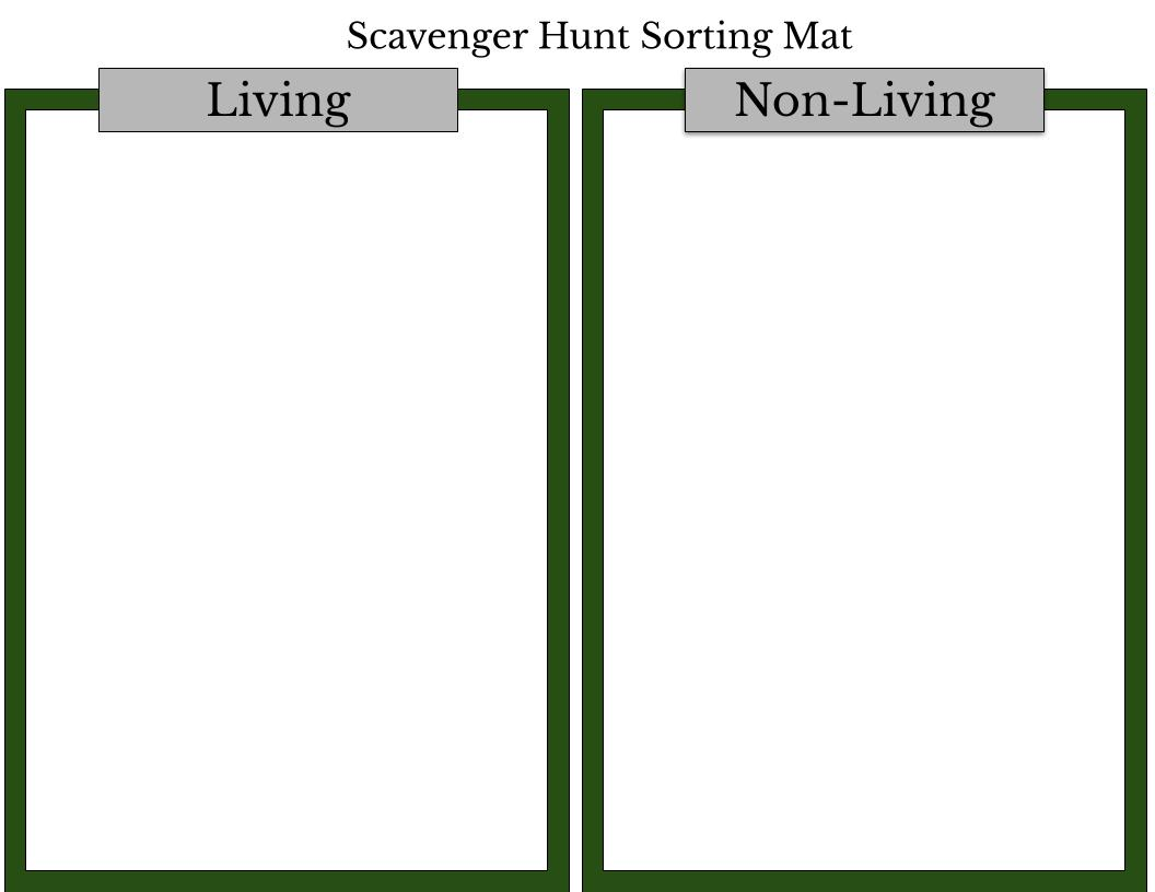hight resolution of Sheriff's Meadow Scavenger Hunt Worksheet #1 – Sheriff's Meadow Foundation
