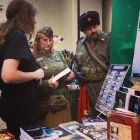 author Jolene Loraine w customers Norwescon