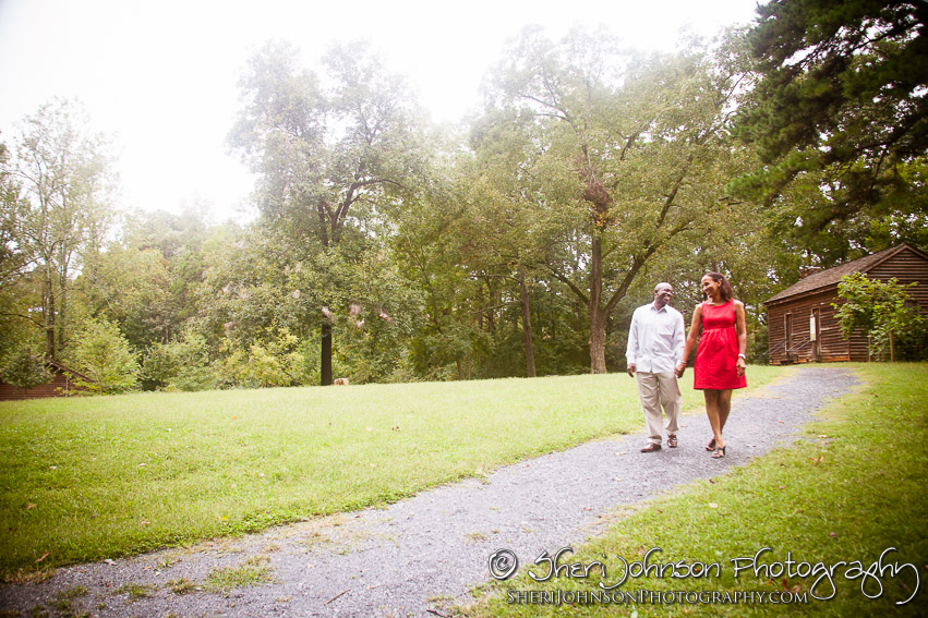 Marcia & Bryan Engagement in Lilburn, GA