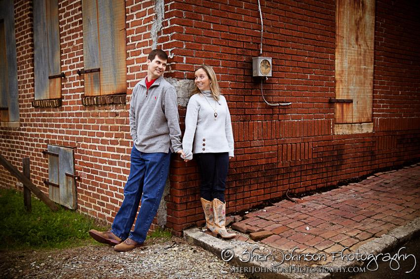 Valerie & Chris Engagement in Ball Ground, GA