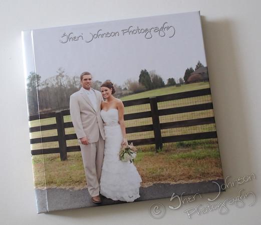 Sheri Johnson Signature Modern Wedding Album