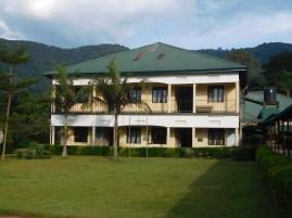 A view of key partner Bwindi Community Hospital