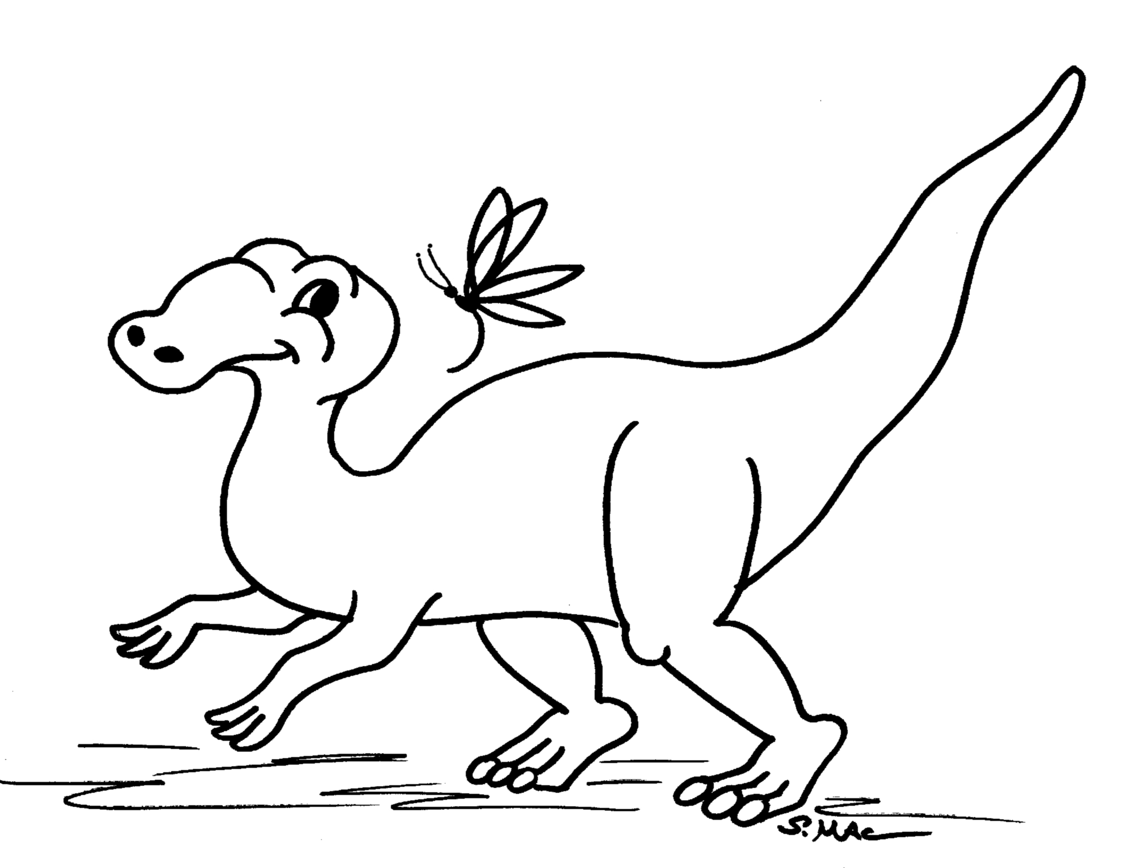 Robot Dinosaur Coloring Pages