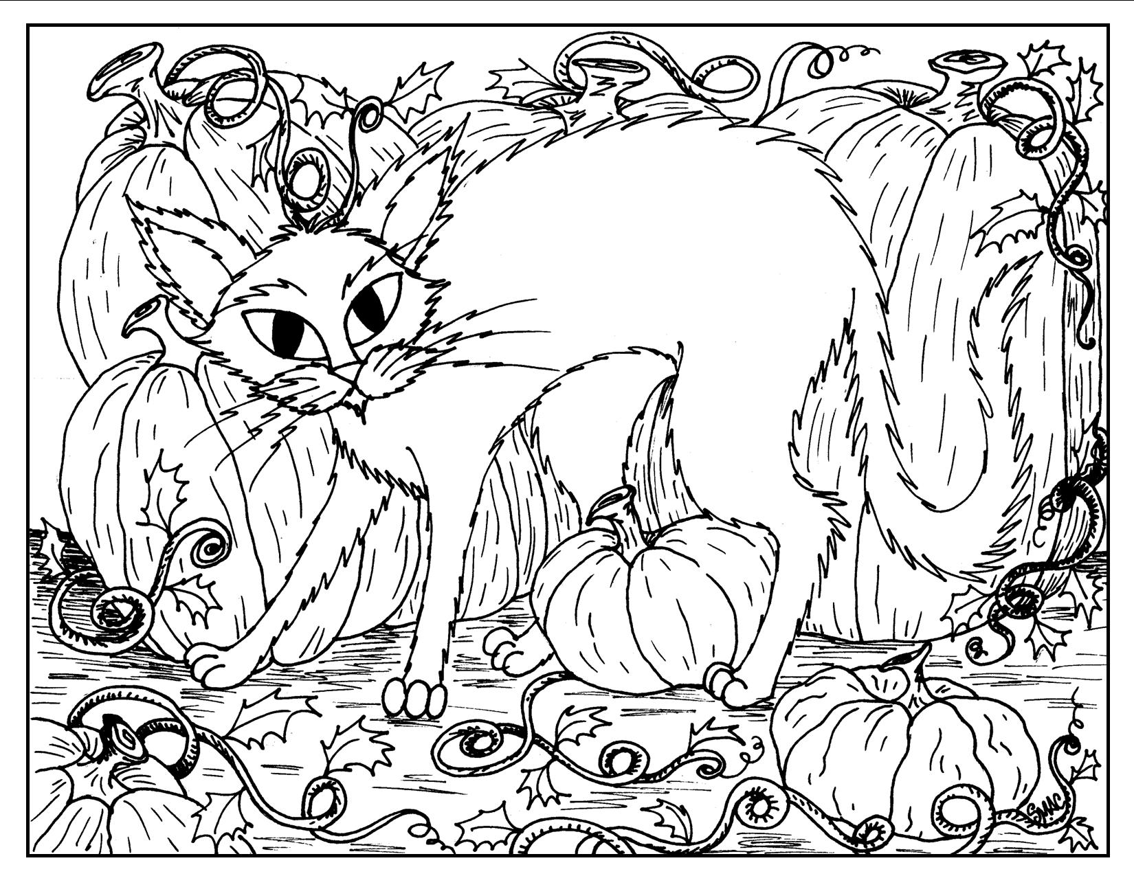 Halloween Coloring Pages – S.Mac\'s Place to Be