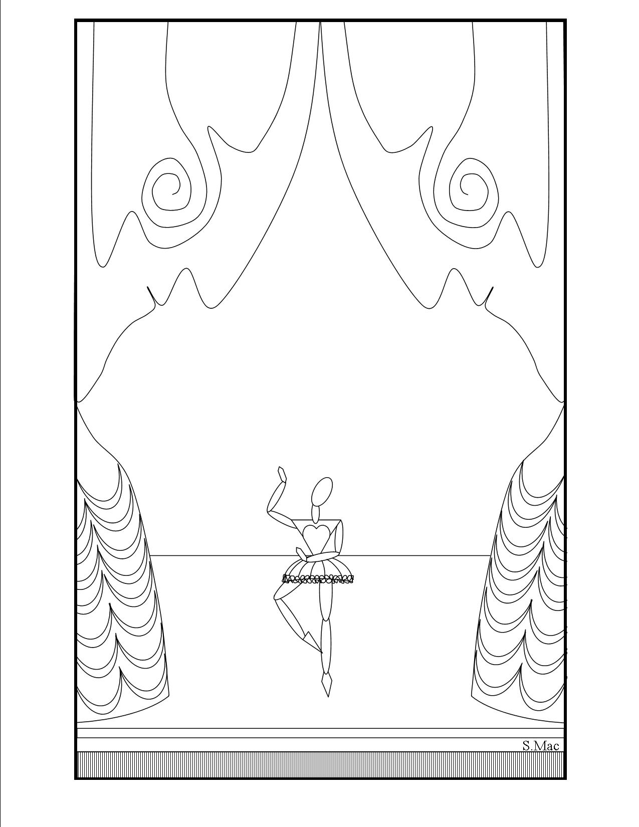 Pablo Picasso - Free printable Coloring pages for kids | 1650x1275