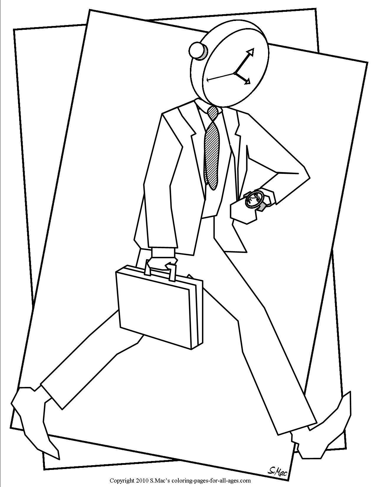 Surrealistic Coloring Pages SMacs Place To Be