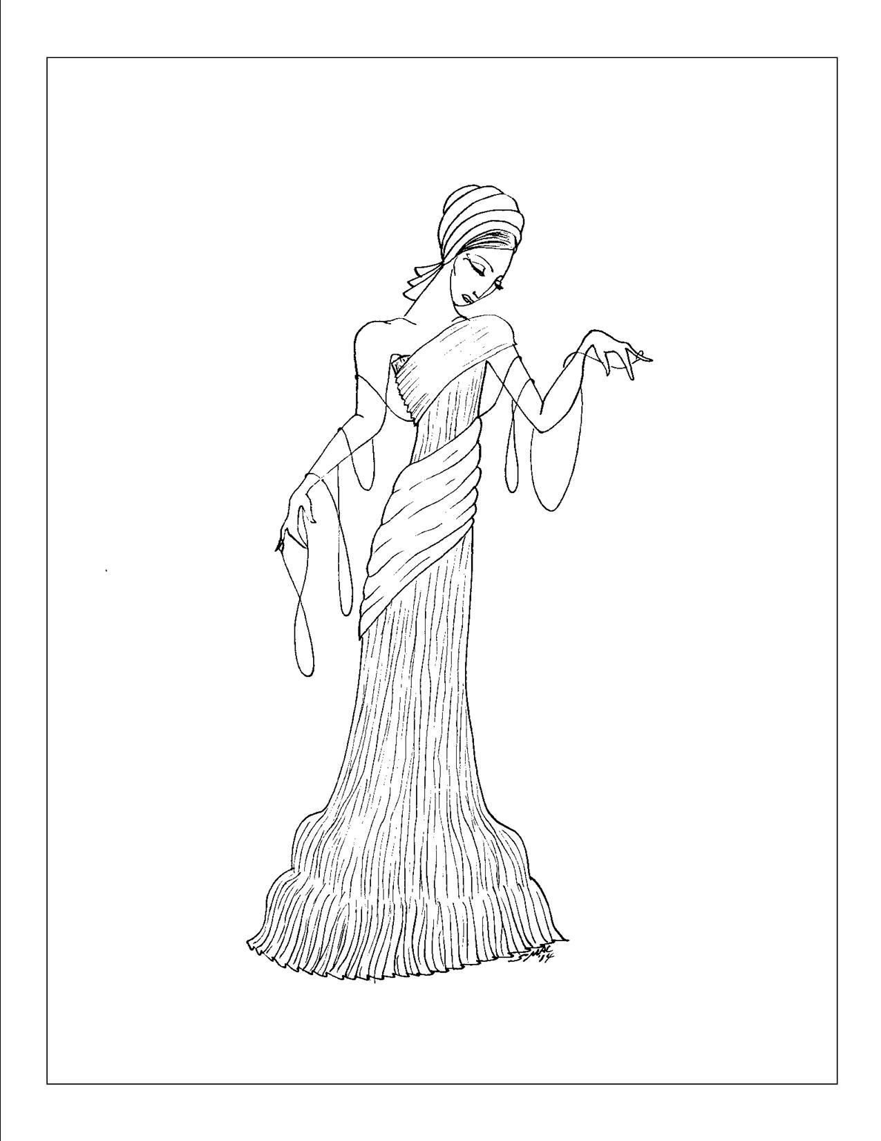 1920s Coloring Pages and Pictures and Roaring Twenties 1920s ... | 1650x1275