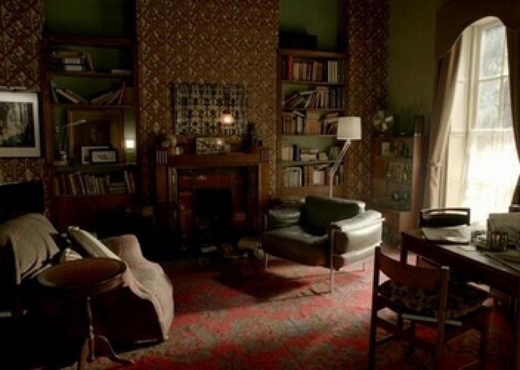 video game chair loveseat bench dining inside sherlock's living room audio atmosphere