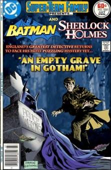 Super-Team Family Batman and Sherlock Holmes