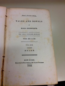 The book's publishing Information: Published by Harper & Brothers in 1846 New York