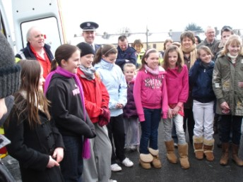 Some of the more than 30 young cadets in Ballaghaderreen Branch