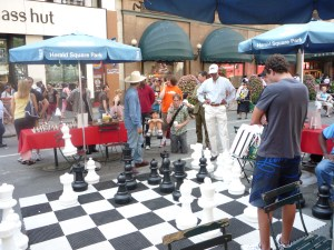 """Chess """"on the street"""""""