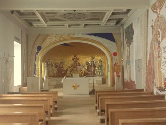 Interior of Chapel, Irish College Rome