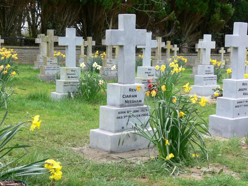 Fr Ciaran's Grave. R.I.P.