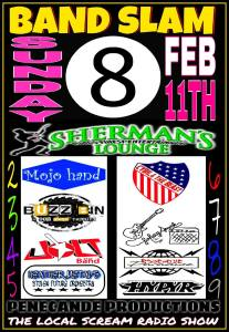 Band Slam 8 @ Sherman's Lounge | Flint | Michigan | United States