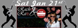 Rachelle Rae & the Banned @ Sherman's Lounge | Flint | Michigan | United States