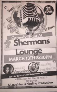 Comedy Night @ Sherman's Lounge | Flint | Michigan | United States