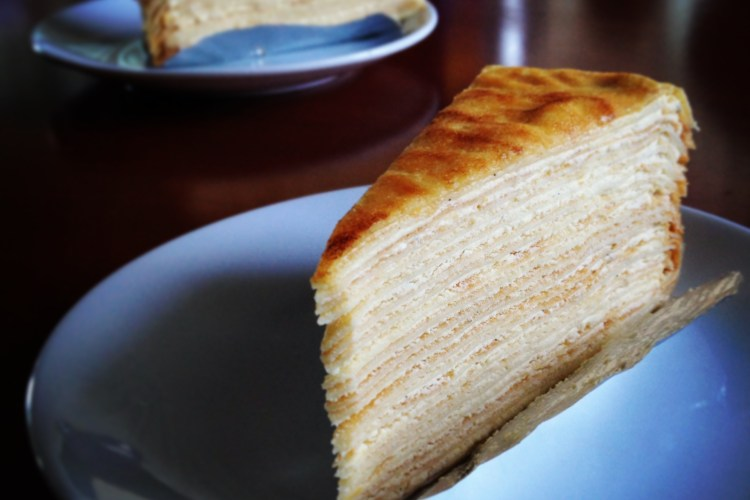 A thousand layers of happiness? Featuring First Love Patisserie's Mille Crepe.