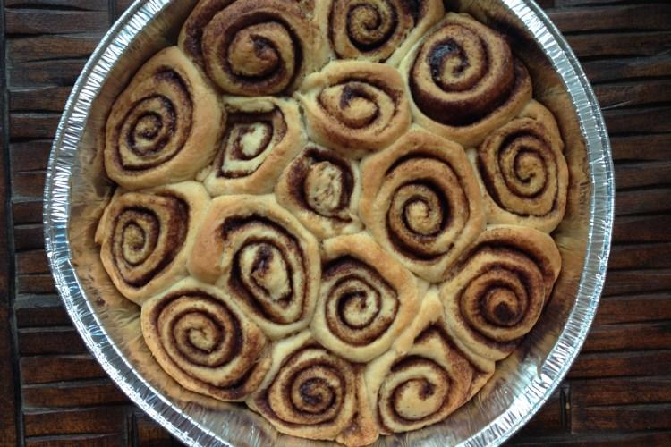 RECIPE: No-Knead (to worry) Cinnamon Rolls