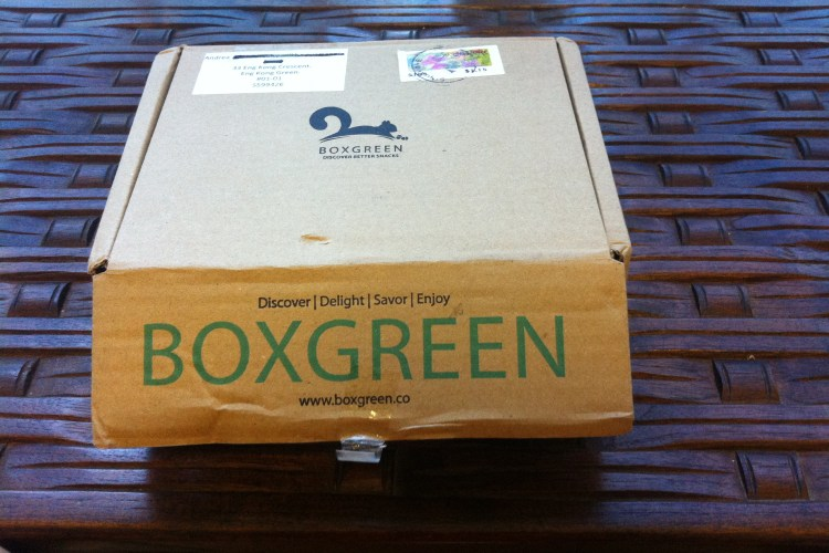 Eat Clean with BoxGreen: July's Box