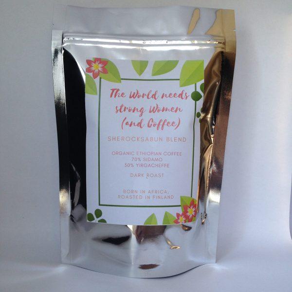sherocksabun coffee - The world needs strong women (and coffee)