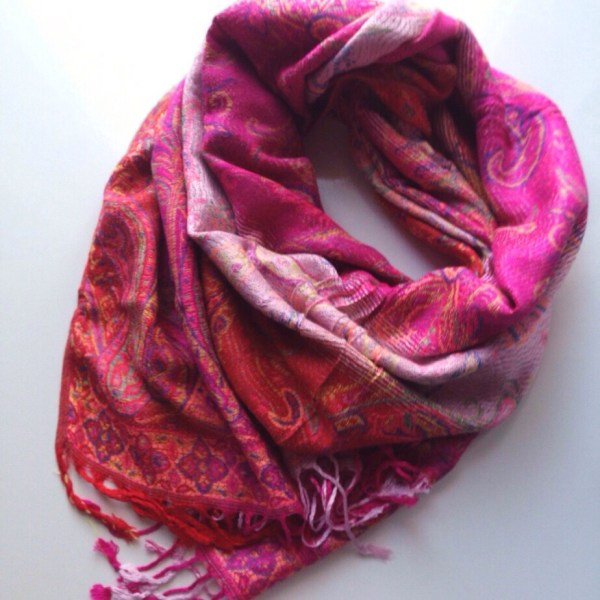 oriental gone neon pocket scarf by sherocksabun