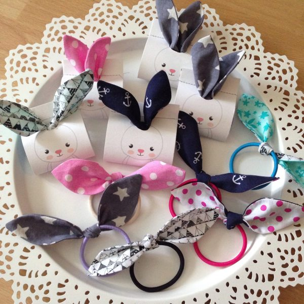 Hair ties in bunny packaging by sherocksabun