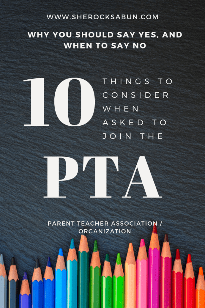 10 things to consider when asked to join the PTA - Parent Teacher Association