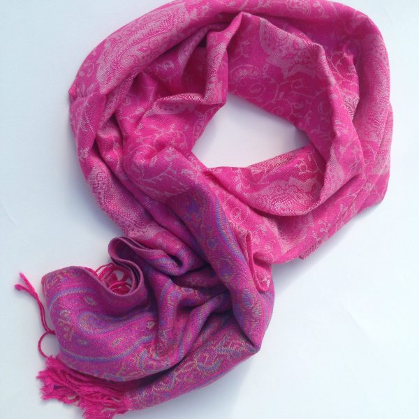 Pink me up pocket scarf by sherocksabun