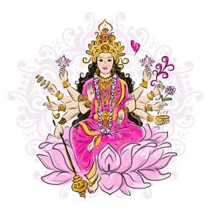 Kali's 10 arms