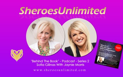 SheroesUnlimited Behind The Book Series #02 | Sofia Gilinas With Jaynie Morris