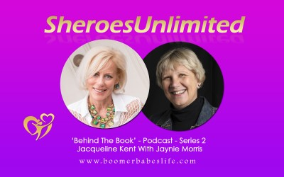 SheroesUnlimited Behind The Book Series #02 | Jacqueline Kent With Jaynie Morris