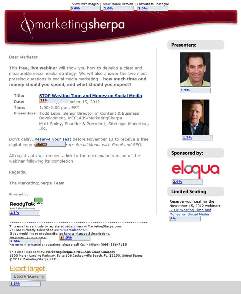 5 design tips for a great webinar invitation email example from