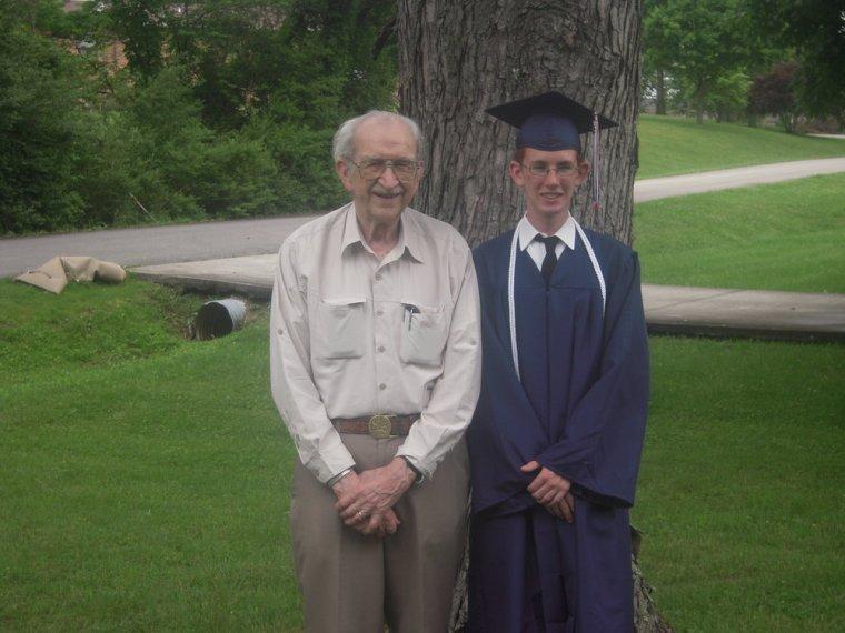 Grandpa Bob and Kory