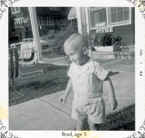 Brad, almost age 3