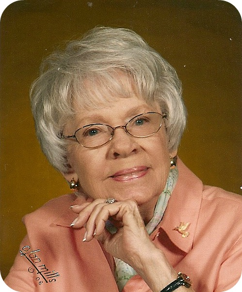 My cousin, Jean Shivell Bell, in 2006 at age 91.