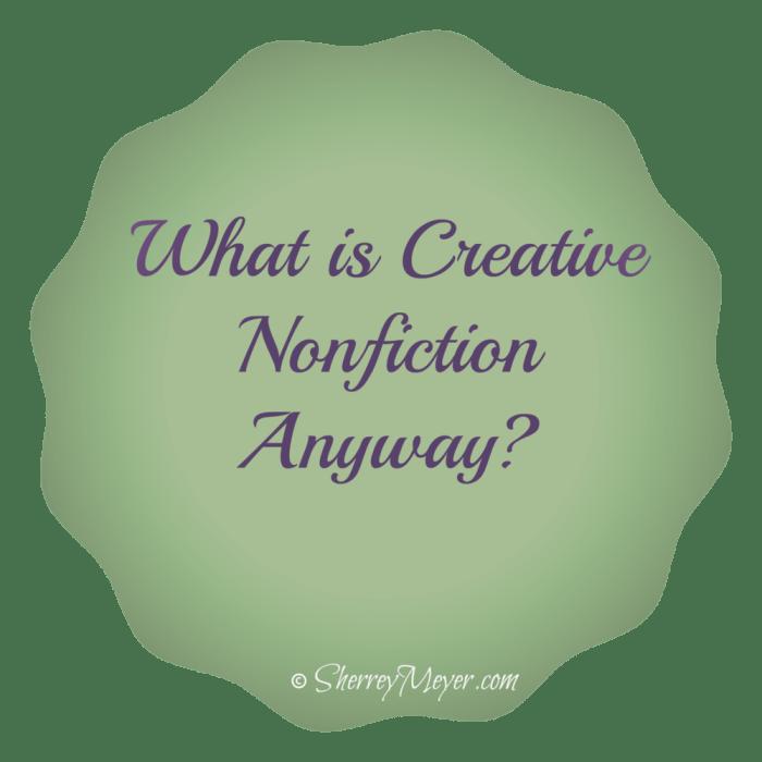 Creative Nonfiction vs. Memoir