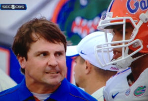 Will Muschamp during his tenure at University of Florida